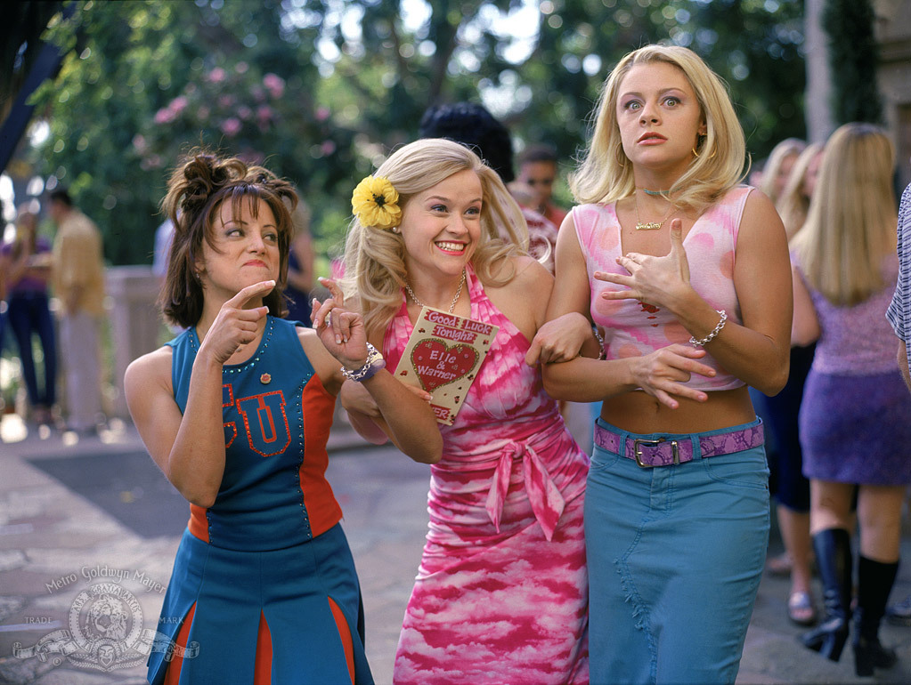 Reese Witherspoon in Legally Blonde (2001). (Source: IMDB)